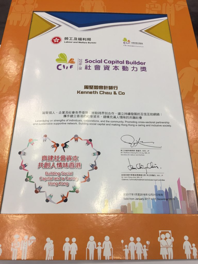 OUTSTANDING CIIF-FUNDED PROJECTS COMMENDED